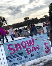 Snow Day Banner & Snow Pit